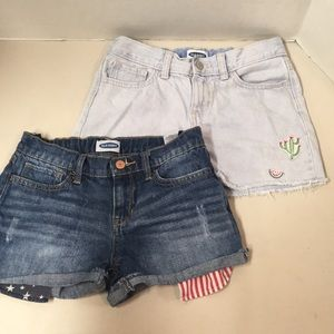 Two pairs of Old Navy shorts